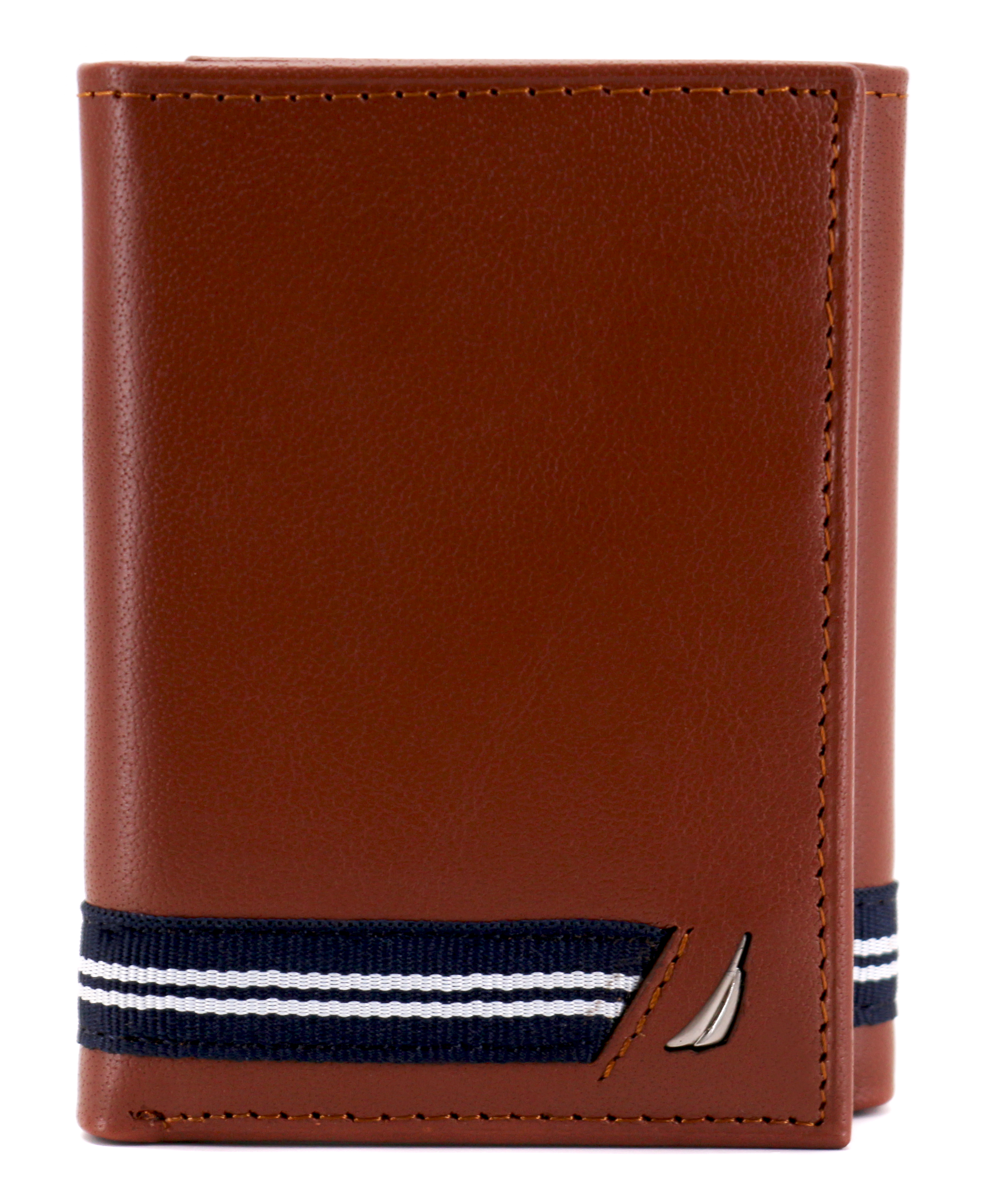 Nautica-Men-039-s-Genuine-Leather-Credit-Card-Id-Holder-Trifold-Wallet thumbnail 23