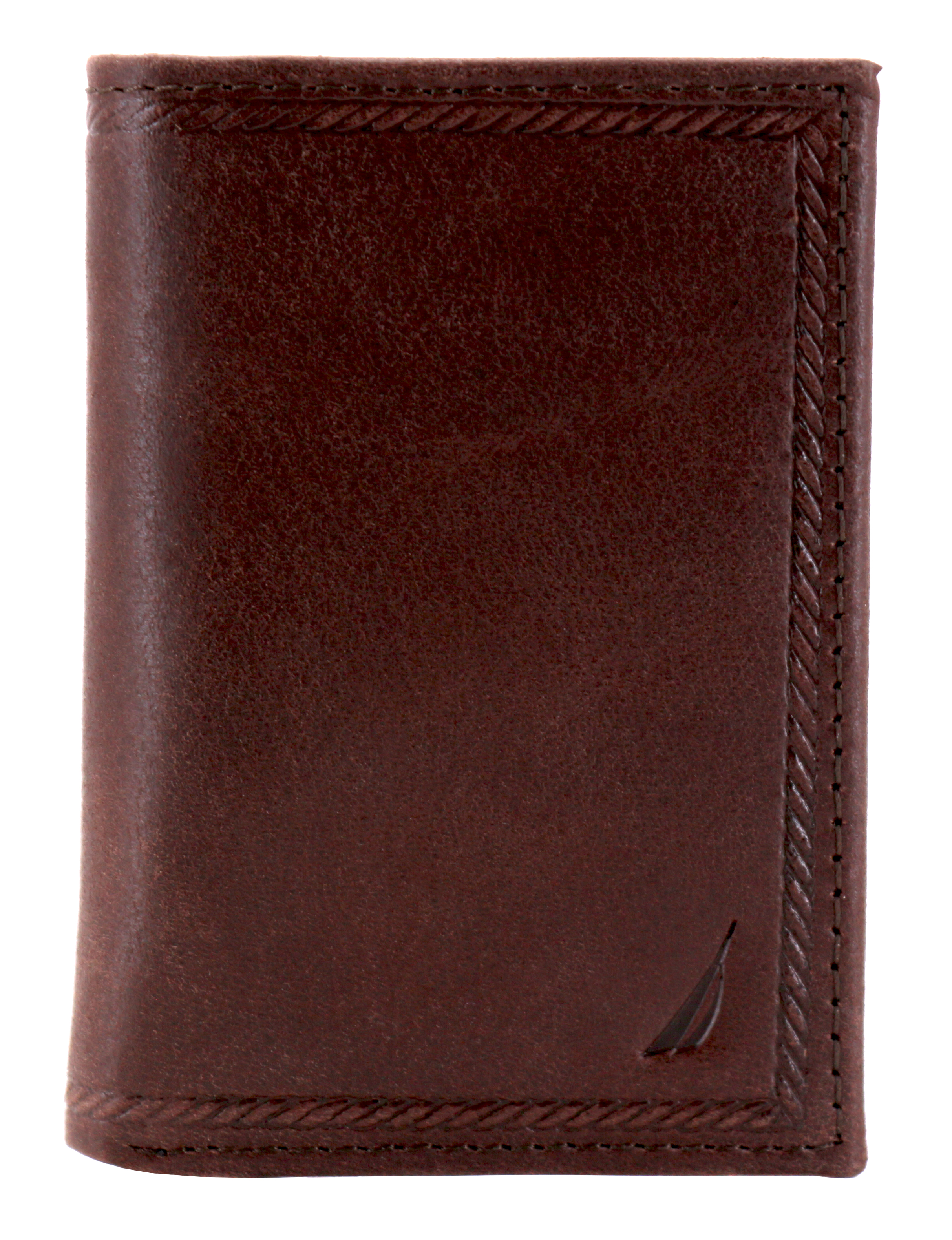 Nautica-Men-039-s-Genuine-Vintage-Leather-Credit-Card-Id-Trifold-Wallet thumbnail 12