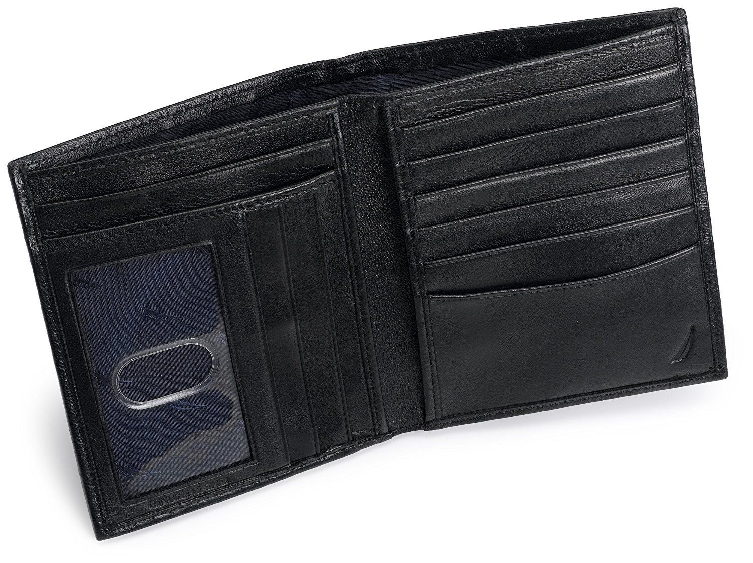 New-Nautica-Men-039-s-Premium-Leather-Credit-Card-ID-Organizer-Big-Wallet-31NU19X003 thumbnail 8