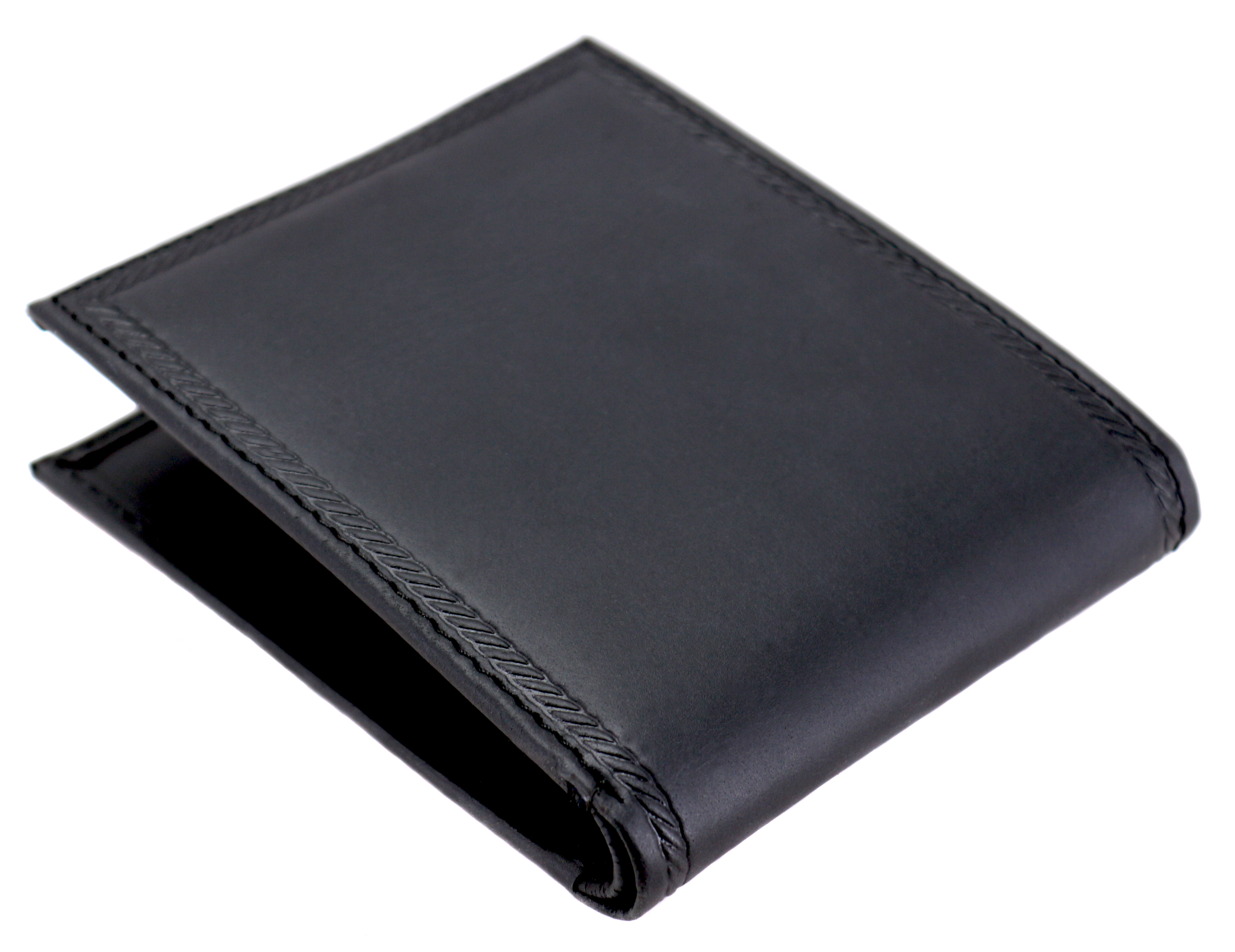 Nautica-Men-039-s-Genuine-Vintage-Leather-Credit-Card-ID-Billfold-Passcase-Wallet thumbnail 5