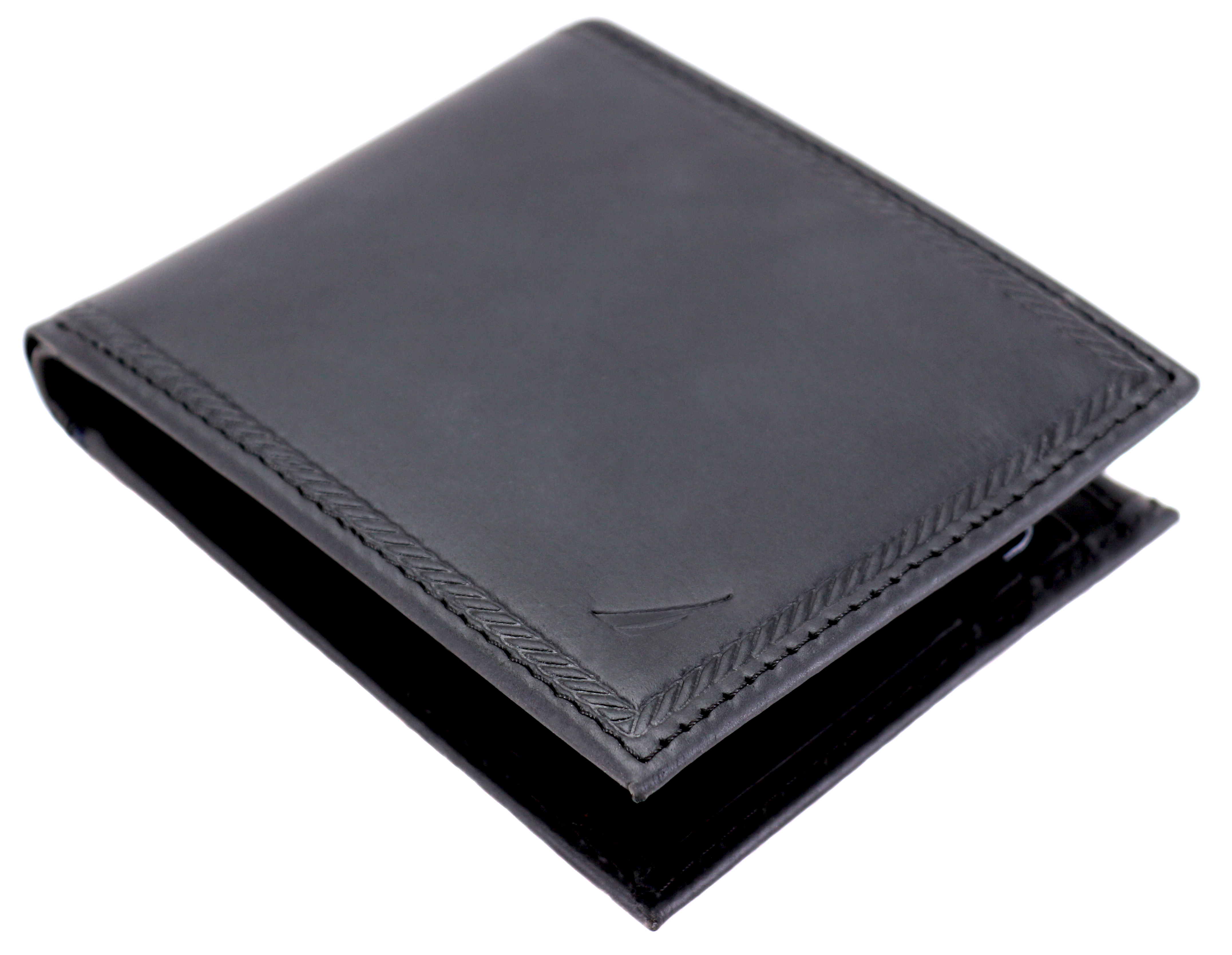 Nautica-Men-039-s-Genuine-Vintage-Leather-Credit-Card-ID-Billfold-Passcase-Wallet thumbnail 4