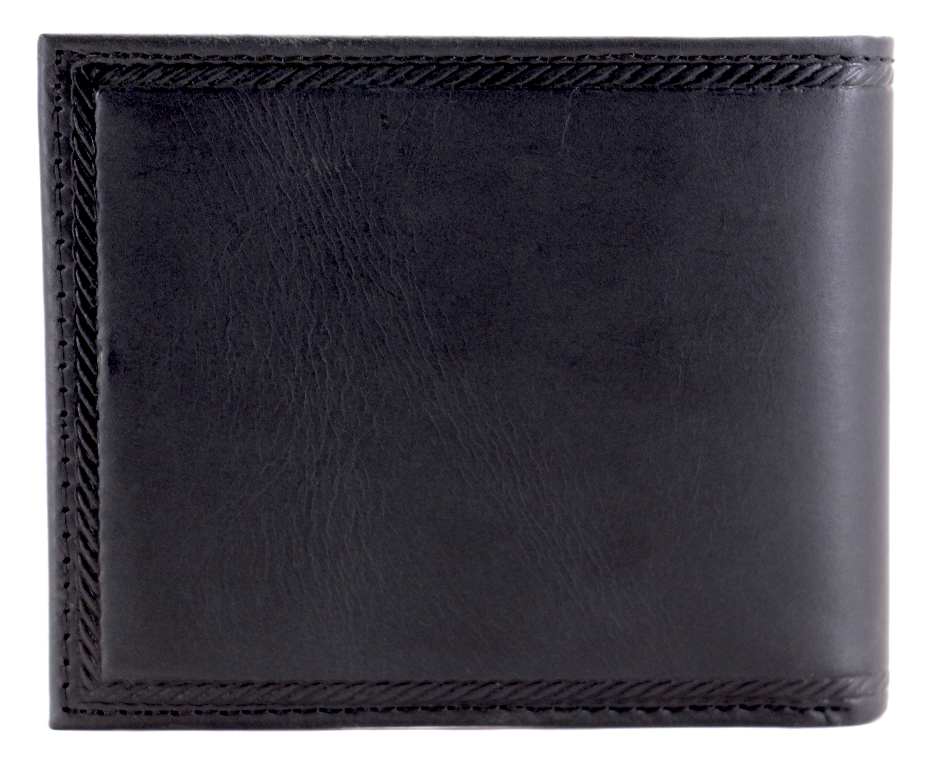 Nautica-Men-039-s-Genuine-Vintage-Leather-Credit-Card-ID-Billfold-Passcase-Wallet thumbnail 3