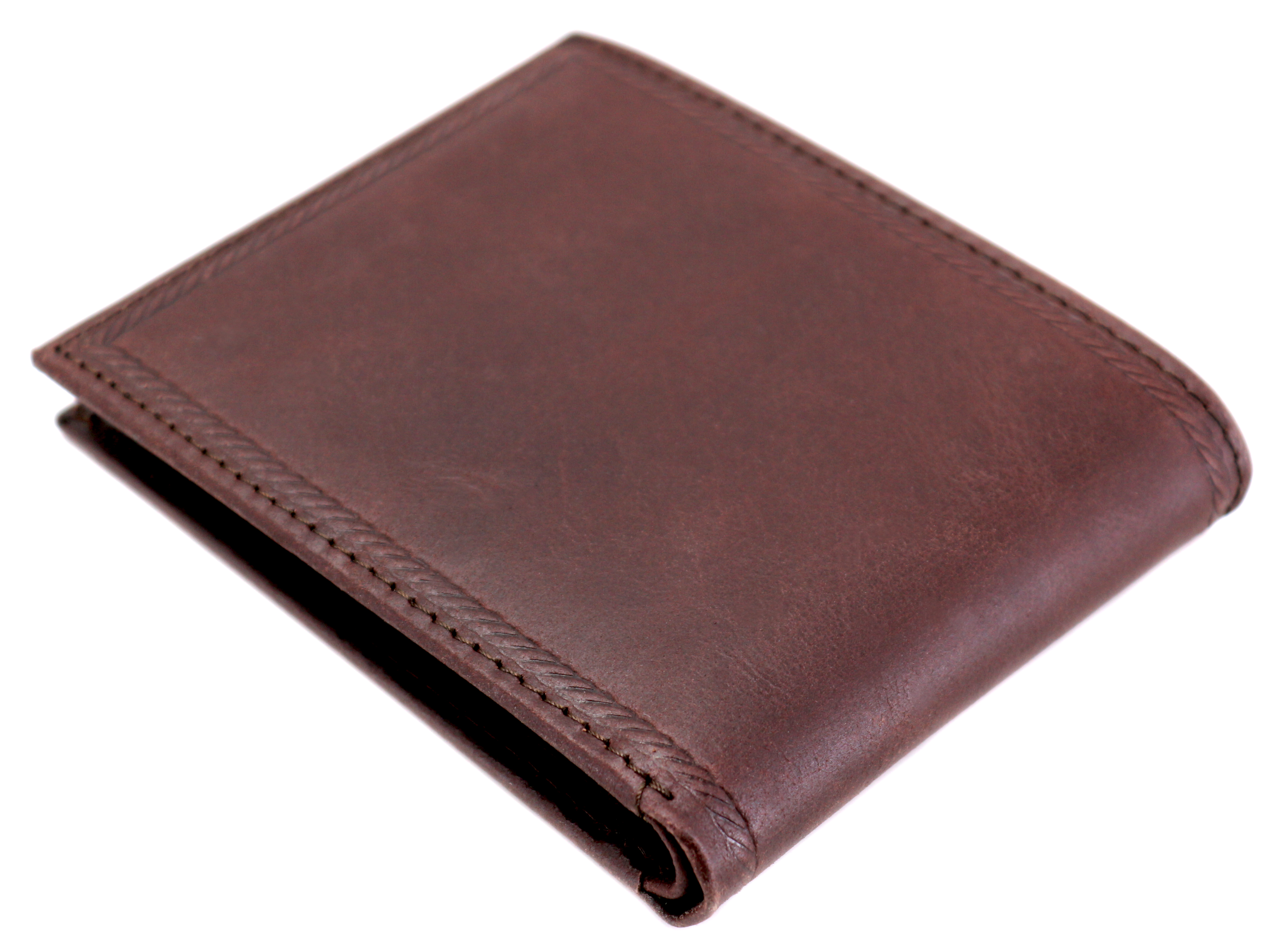 Nautica-Men-039-s-Genuine-Vintage-Leather-Credit-Card-ID-Billfold-Passcase-Wallet thumbnail 13