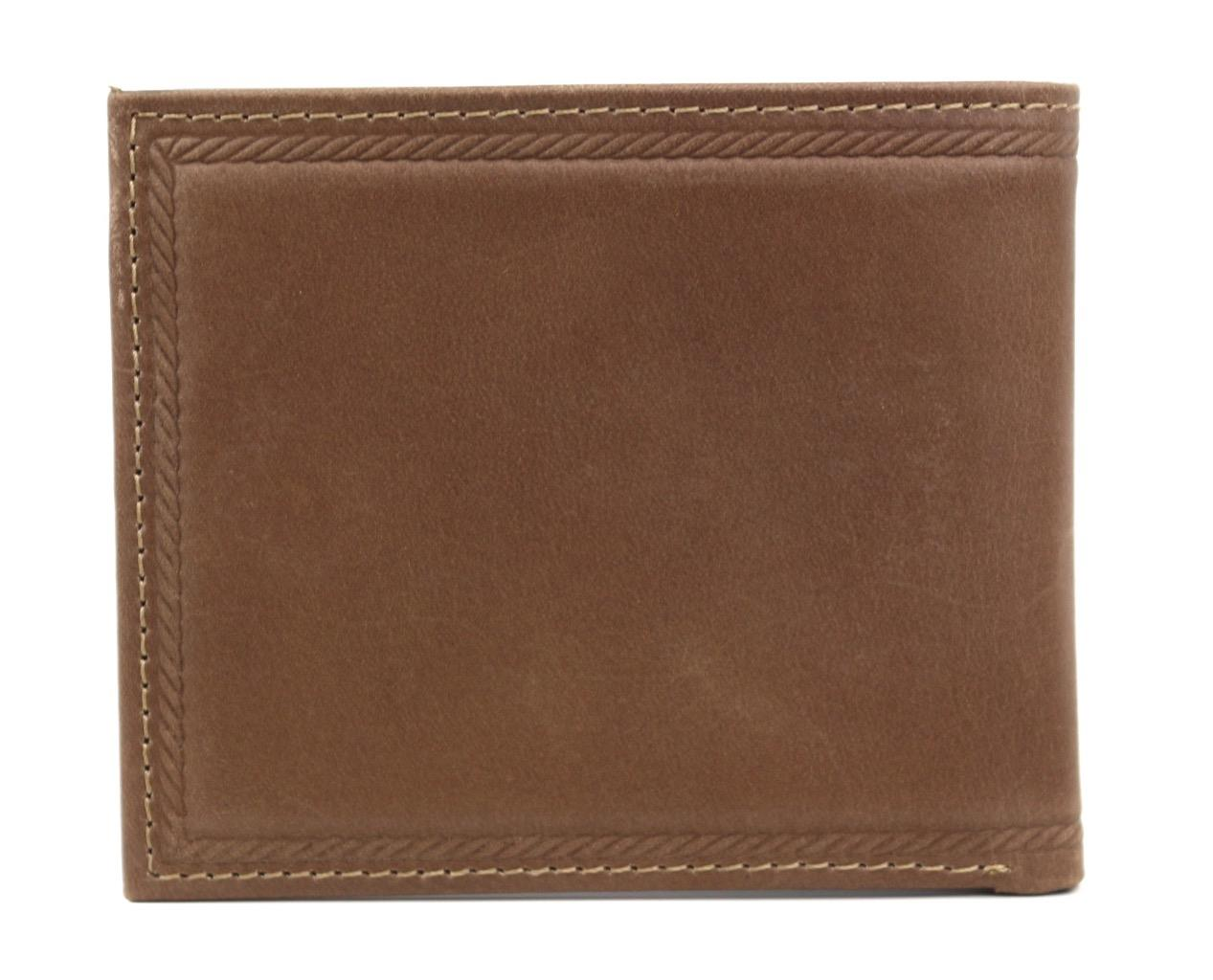 Nautica-Men-039-s-Genuine-Vintage-Leather-Credit-Card-ID-Billfold-Passcase-Wallet thumbnail 19