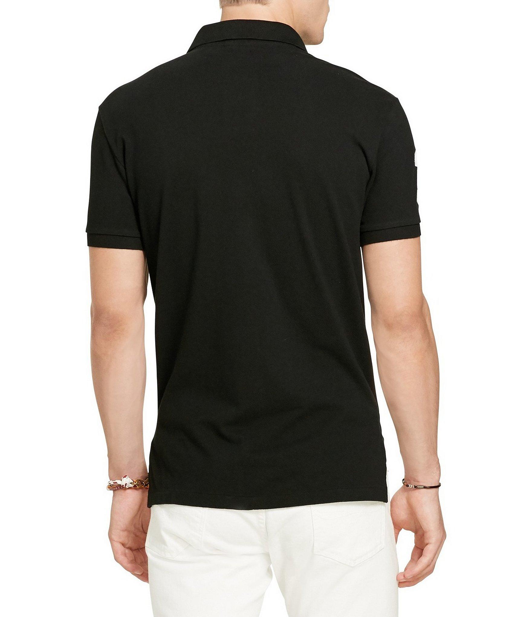 Polo-Ralph-Lauren-Men-039-s-Short-Sleeve-Big-Pony-Logo-Polo-Shirt thumbnail 3