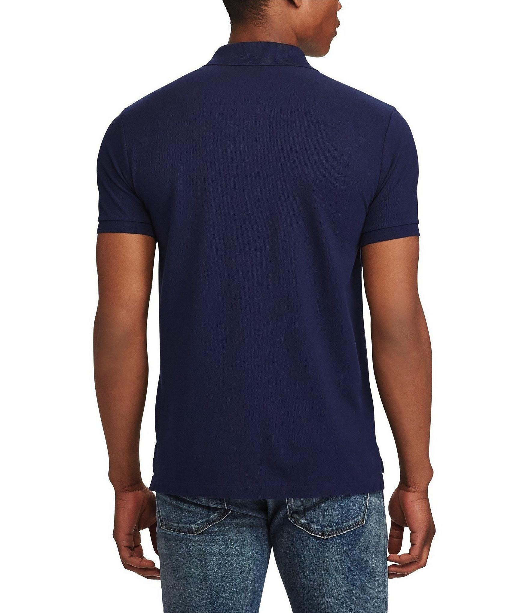 Polo-Ralph-Lauren-Men-039-s-Short-Sleeve-Big-Pony-Logo-Polo-Shirt thumbnail 6