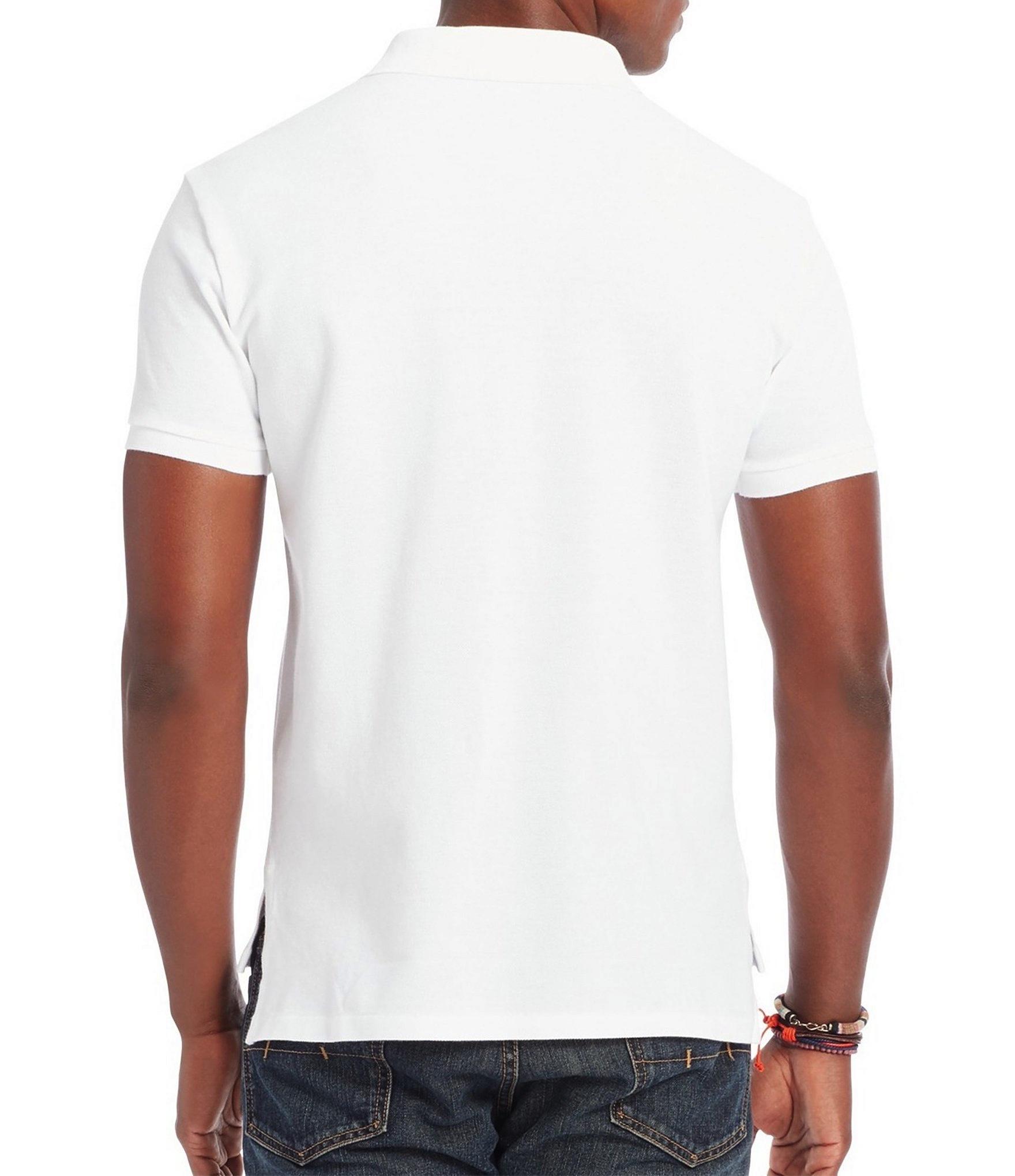 Polo-Ralph-Lauren-Men-039-s-Short-Sleeve-Big-Pony-Logo-Polo-Shirt thumbnail 12