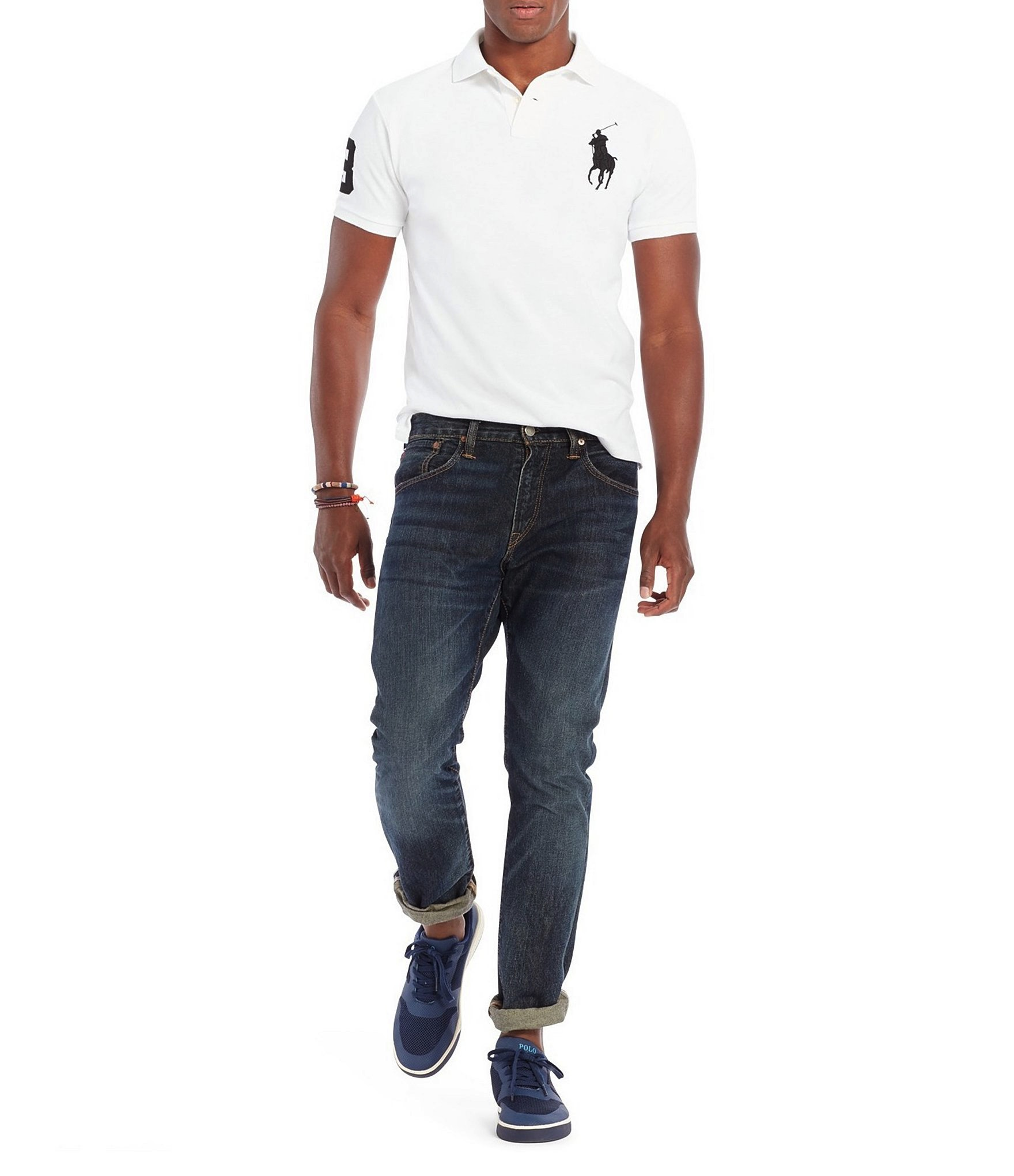 Polo-Ralph-Lauren-Men-039-s-Short-Sleeve-Big-Pony-Logo-Polo-Shirt thumbnail 13