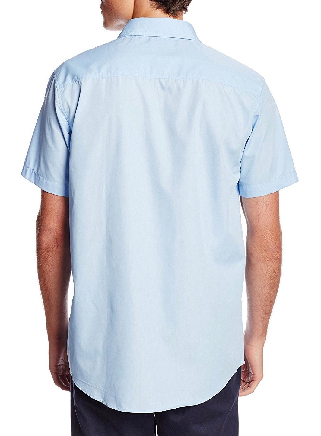 Berlioni-Italy-Men-039-s-Premium-Classic-Button-Down-Short-Sleeve-Solid-Dress-Shirt thumbnail 7
