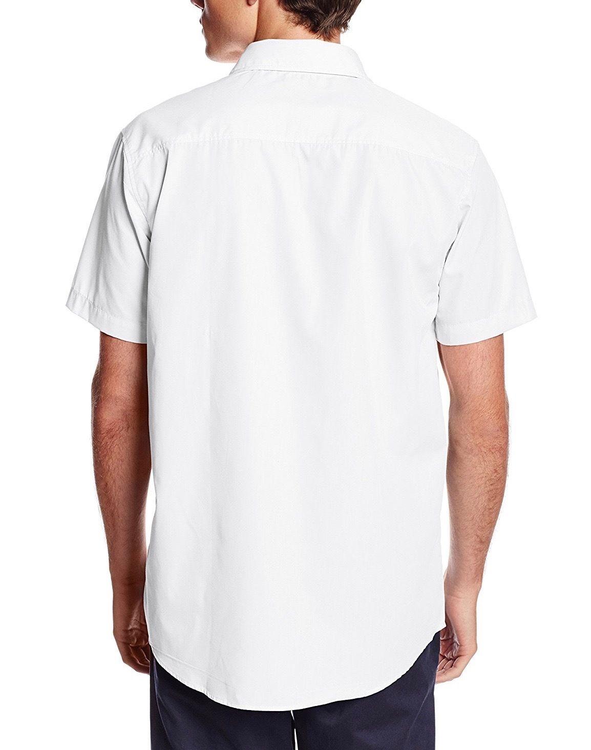 Berlioni-Italy-Men-039-s-Premium-Classic-Button-Down-Short-Sleeve-Solid-Dress-Shirt thumbnail 10