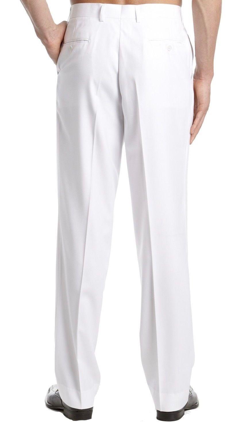 TM-Exposure-Men-039-s-Premium-Slim-Fit-Dress-Pants-Slacks-Flat-Front-Multiple-Colors thumbnail 9