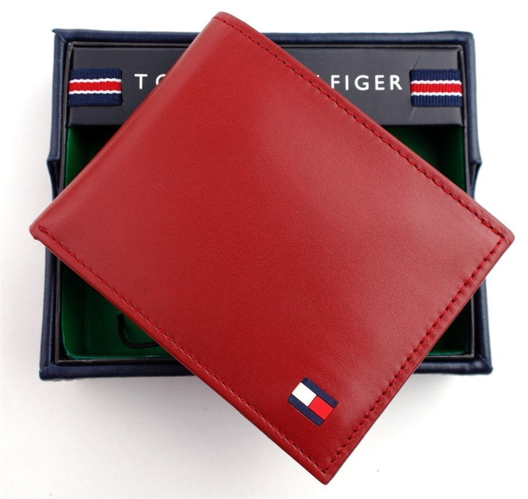 Tommy-Hilfiger-Men-039-s-Premium-Leather-Credit-Card-ID-Wallet-Passcase-31TL22X046 thumbnail 43