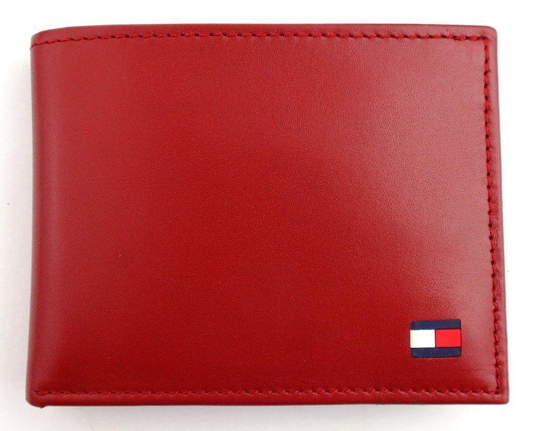 Tommy-Hilfiger-Men-039-s-Premium-Leather-Credit-Card-ID-Wallet-Passcase-31TL22X046 thumbnail 50