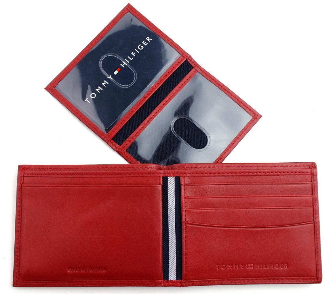 Tommy-Hilfiger-Men-039-s-Premium-Leather-Credit-Card-ID-Wallet-Passcase-31TL22X046 thumbnail 49
