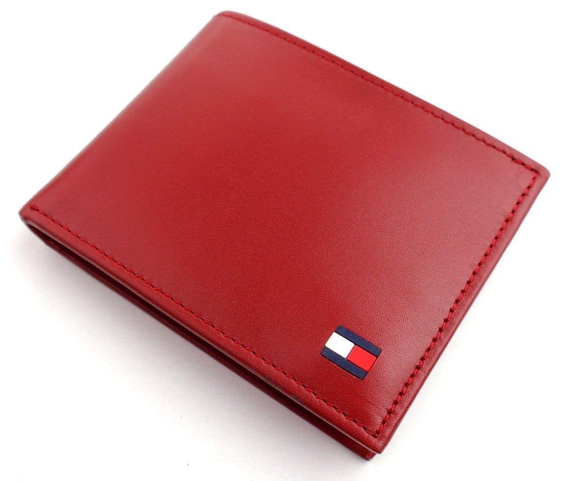 Tommy-Hilfiger-Men-039-s-Premium-Leather-Credit-Card-ID-Wallet-Passcase-31TL22X046 thumbnail 44