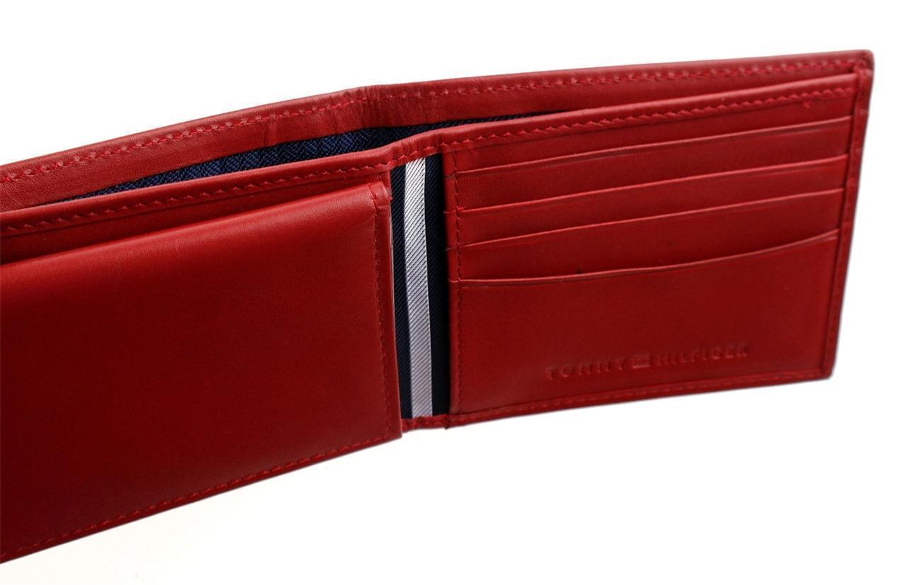 Tommy-Hilfiger-Men-039-s-Premium-Leather-Credit-Card-ID-Wallet-Passcase-31TL22X046 thumbnail 47