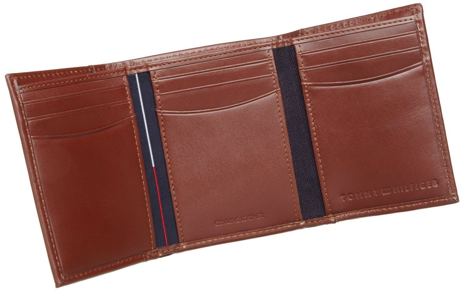 Tommy-Hilfiger-Men-039-s-Premium-Leather-Credit-Card-ID-Wallet-Trifold-31TL11X033 thumbnail 23