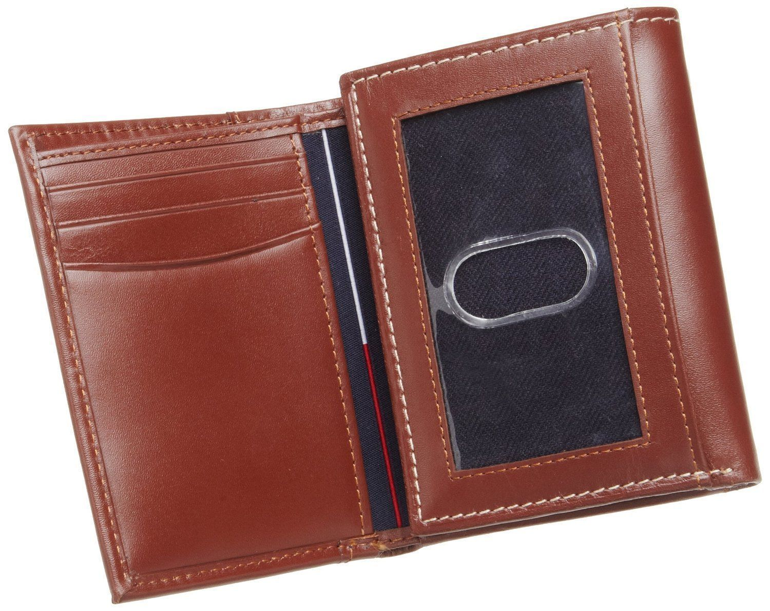 Tommy-Hilfiger-Men-039-s-Premium-Leather-Credit-Card-ID-Wallet-Trifold-31TL11X033 thumbnail 22