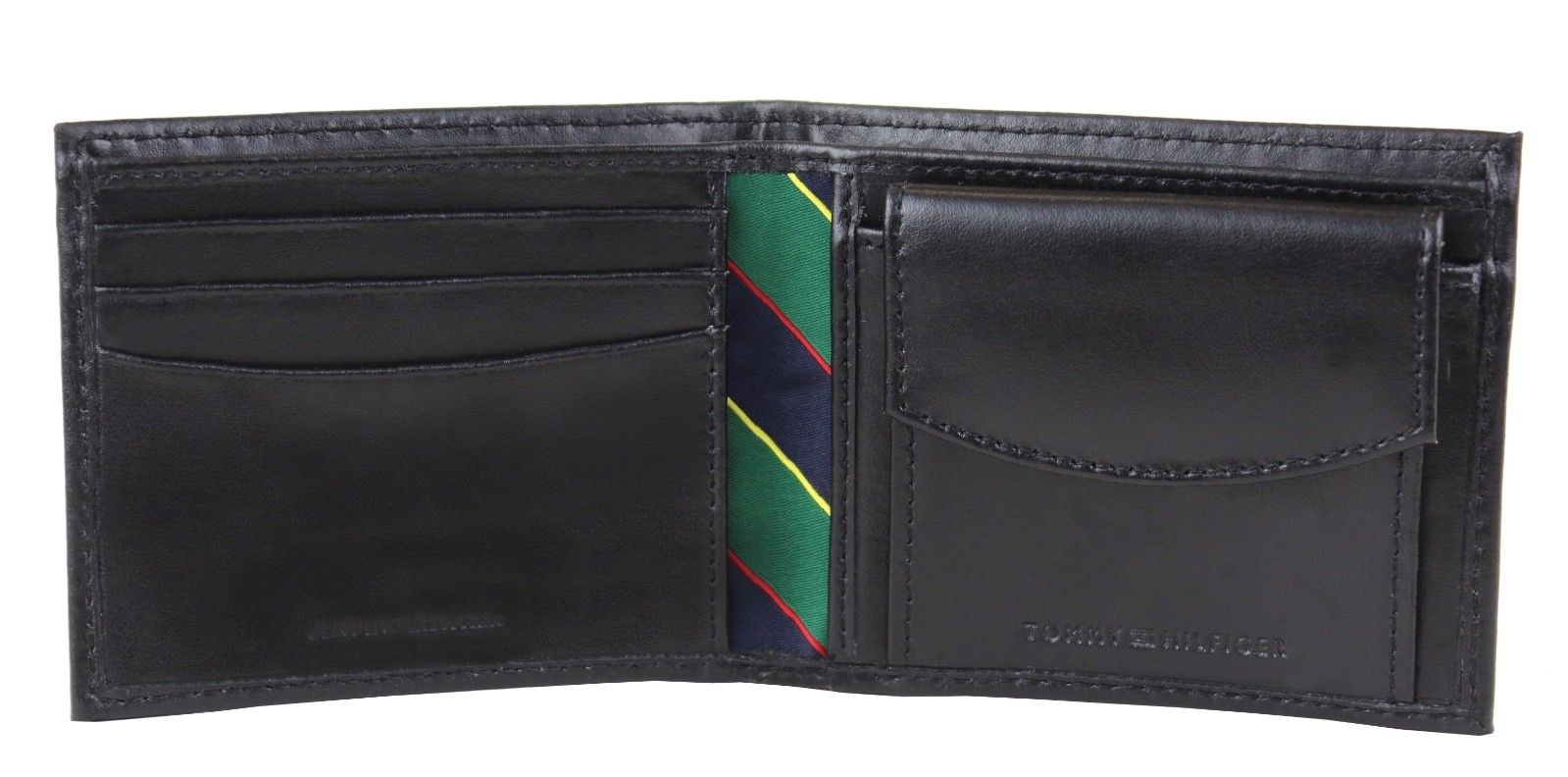 Tommy-Hilfiger-Men-039-s-Leather-Credit-Card-Id-Billfold-Coin-Rfid-Wallet-31Tl130049 thumbnail 8