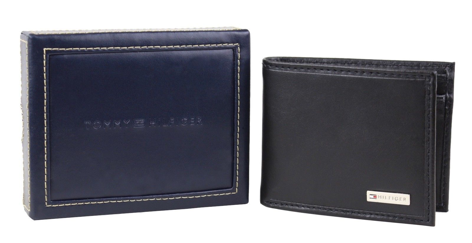 Tommy-Hilfiger-Men-039-s-Leather-Credit-Card-Id-Billfold-Coin-Rfid-Wallet-31Tl130049 thumbnail 11