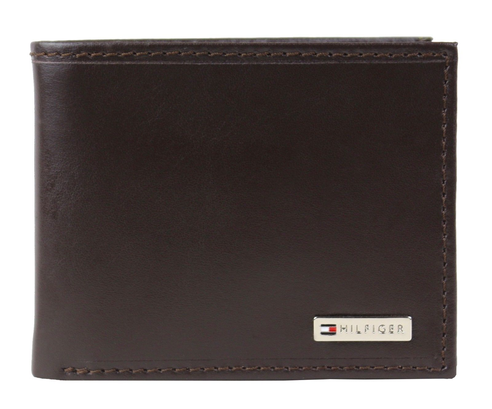 Tommy-Hilfiger-Men-039-s-Leather-Credit-Card-Id-Billfold-Coin-Rfid-Wallet-31Tl130049 thumbnail 15