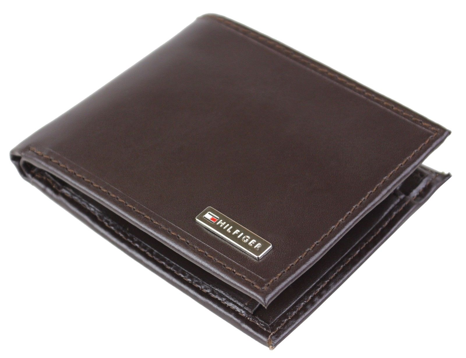 Tommy-Hilfiger-Men-039-s-Leather-Credit-Card-Id-Billfold-Coin-Rfid-Wallet-31Tl130049 thumbnail 13