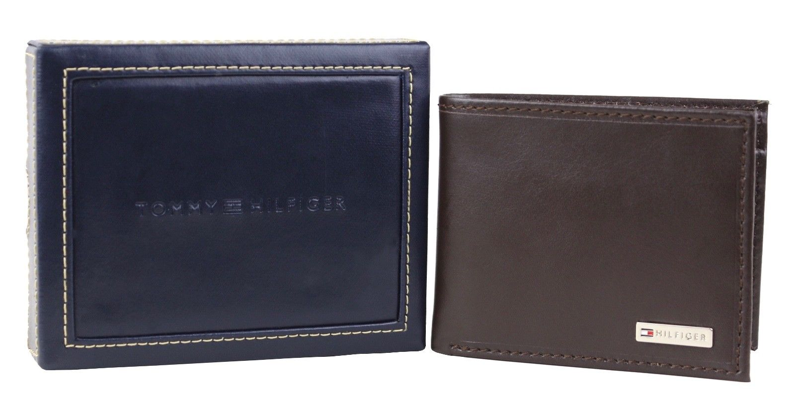 Tommy-Hilfiger-Men-039-s-Leather-Credit-Card-Id-Billfold-Coin-Rfid-Wallet-31Tl130049 thumbnail 20