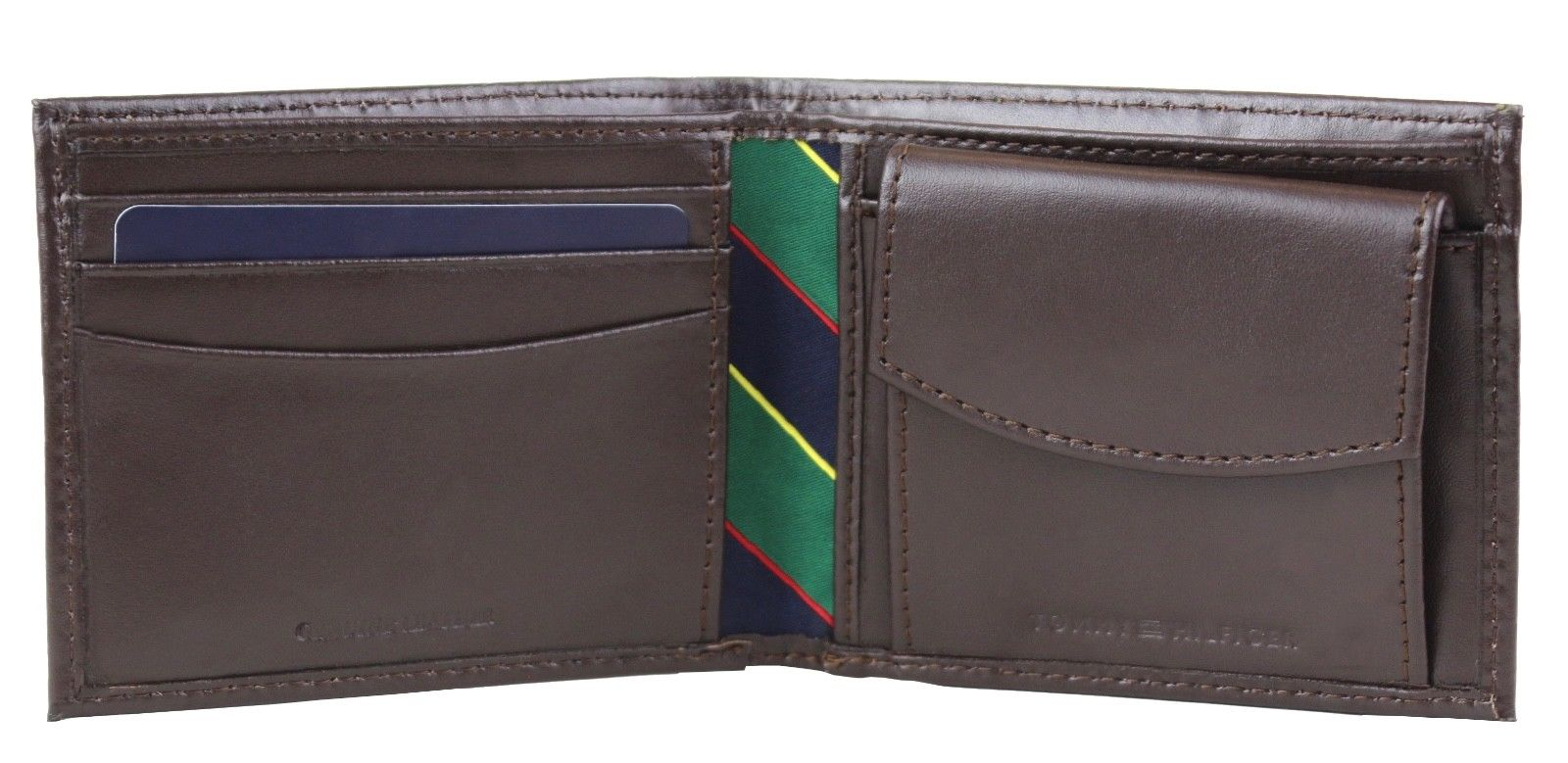 Tommy-Hilfiger-Men-039-s-Leather-Credit-Card-Id-Billfold-Coin-Rfid-Wallet-31Tl130049 thumbnail 17