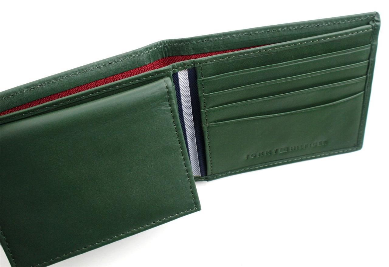 Tommy-Hilfiger-Men-039-s-Premium-Leather-Credit-Card-ID-Wallet-Passcase-31TL22X046 thumbnail 20