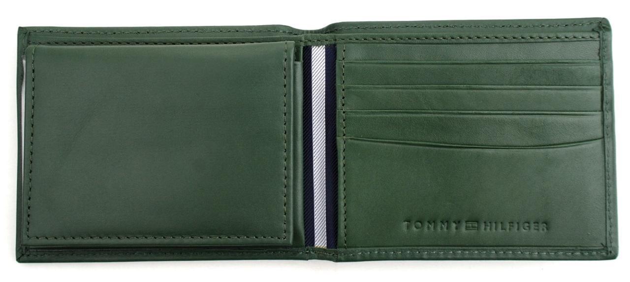 Tommy-Hilfiger-Men-039-s-Premium-Leather-Credit-Card-ID-Wallet-Passcase-31TL22X046 thumbnail 18