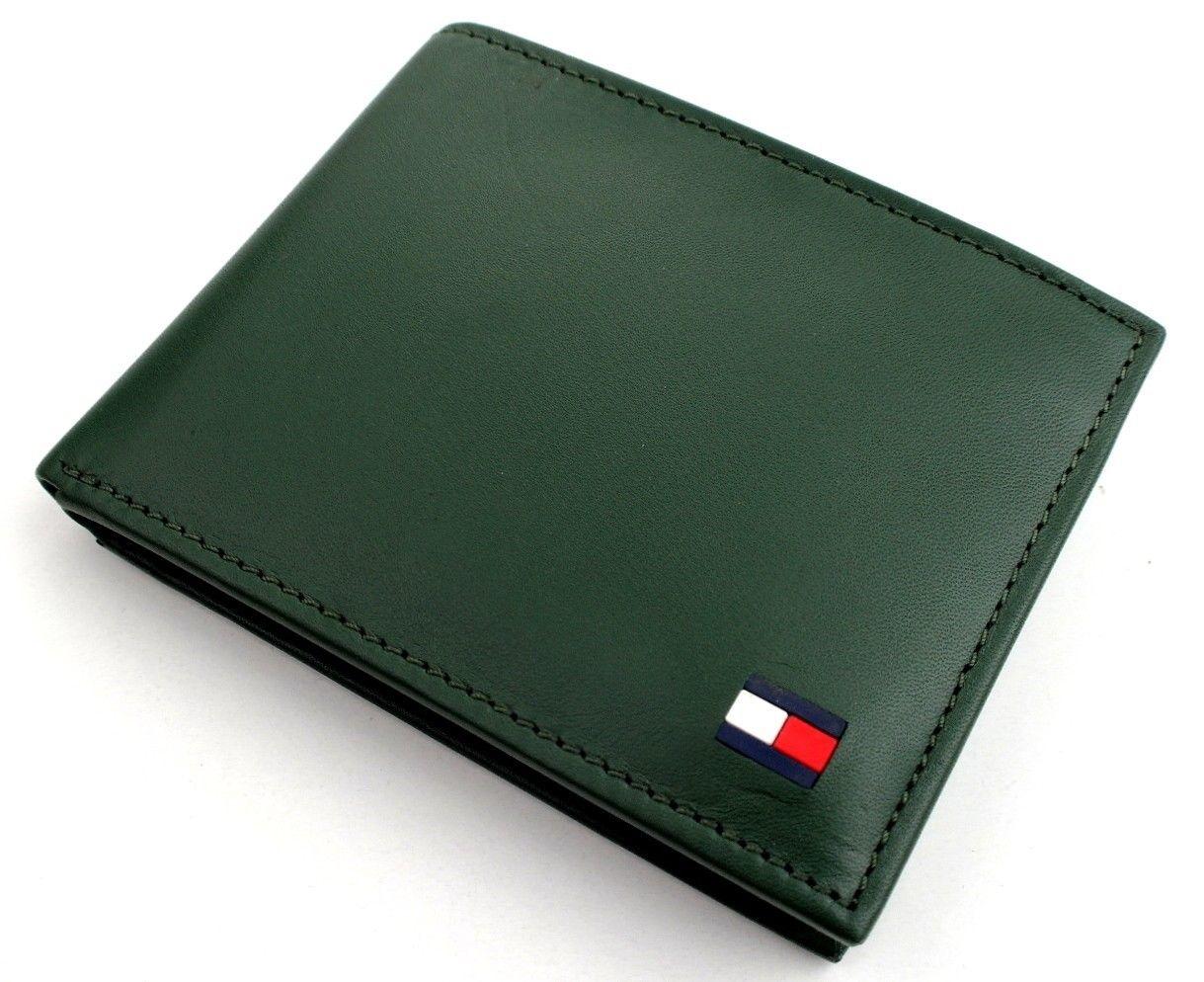 Tommy-Hilfiger-Men-039-s-Premium-Leather-Credit-Card-ID-Wallet-Passcase-31TL22X046 thumbnail 24