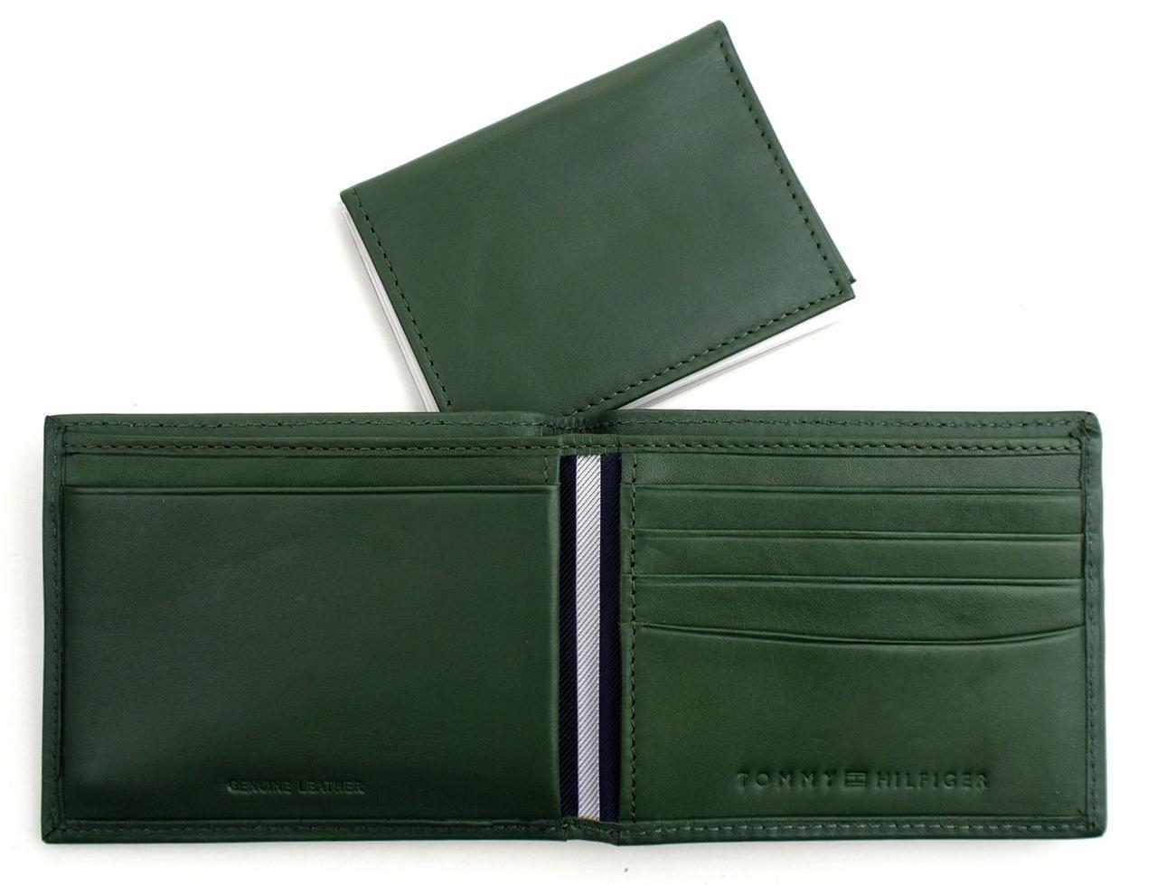 Tommy-Hilfiger-Men-039-s-Premium-Leather-Credit-Card-ID-Wallet-Passcase-31TL22X046 thumbnail 21