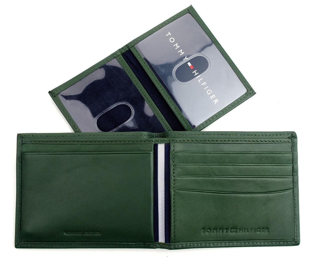 Tommy-Hilfiger-Men-039-s-Premium-Leather-Credit-Card-ID-Wallet-Passcase-31TL22X046 thumbnail 22