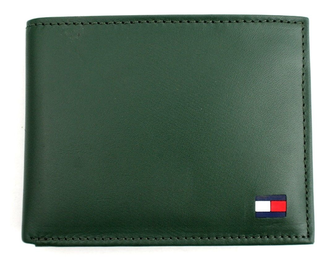 Tommy-Hilfiger-Men-039-s-Premium-Leather-Credit-Card-ID-Wallet-Passcase-31TL22X046 thumbnail 16