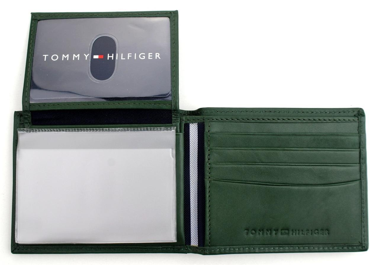 Tommy-Hilfiger-Men-039-s-Premium-Leather-Credit-Card-ID-Wallet-Passcase-31TL22X046 thumbnail 19