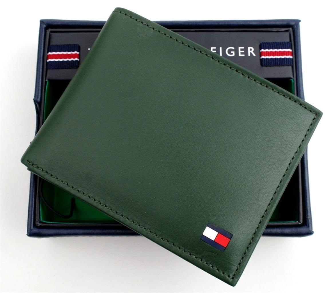 Tommy-Hilfiger-Men-039-s-Premium-Leather-Credit-Card-ID-Wallet-Passcase-31TL22X046 thumbnail 14