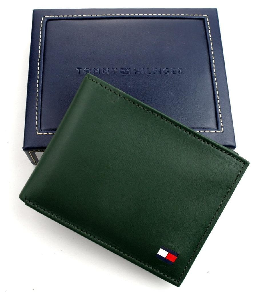 Tommy-Hilfiger-Men-039-s-Premium-Leather-Credit-Card-ID-Wallet-Passcase-31TL22X046 thumbnail 15