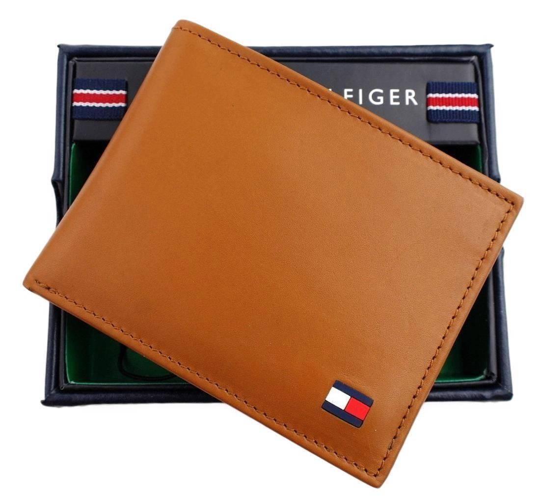 Tommy-Hilfiger-Men-039-s-Premium-Leather-Credit-Card-ID-Wallet-Passcase-31TL22X046 thumbnail 35