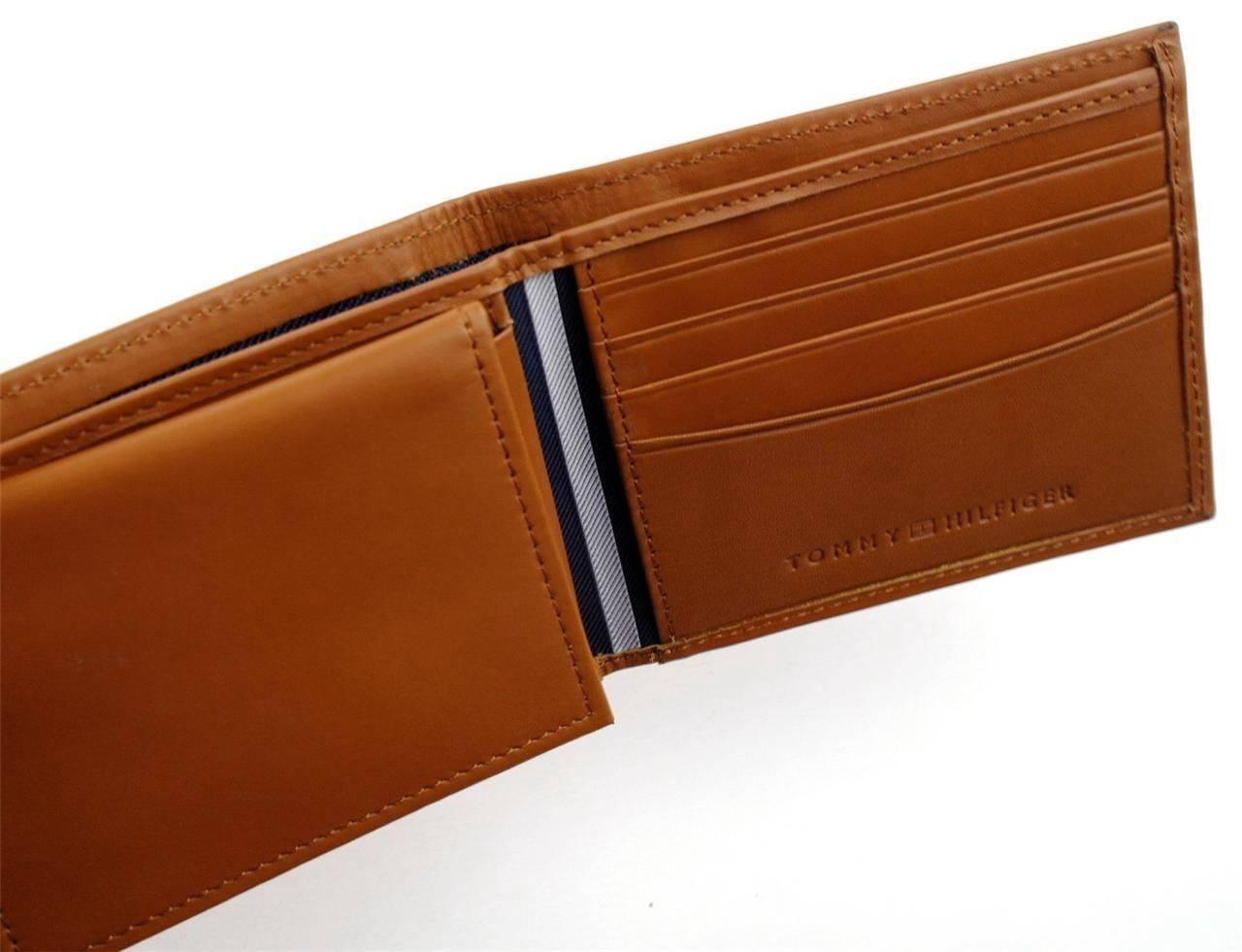 Tommy-Hilfiger-Men-039-s-Premium-Leather-Credit-Card-ID-Wallet-Passcase-31TL22X046 thumbnail 40