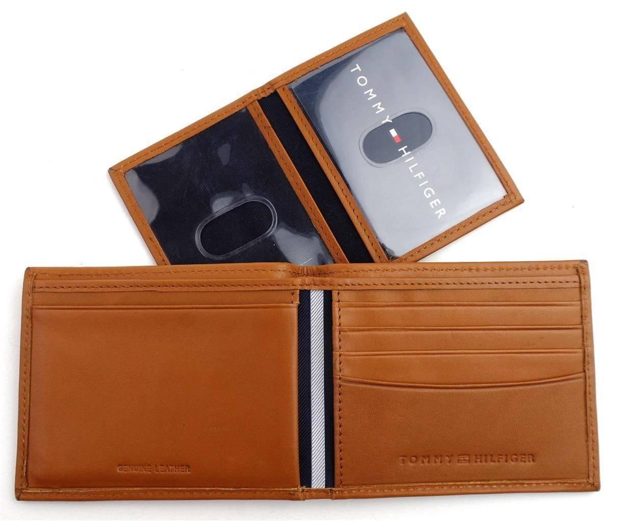 Tommy-Hilfiger-Men-039-s-Premium-Leather-Credit-Card-ID-Wallet-Passcase-31TL22X046 thumbnail 41
