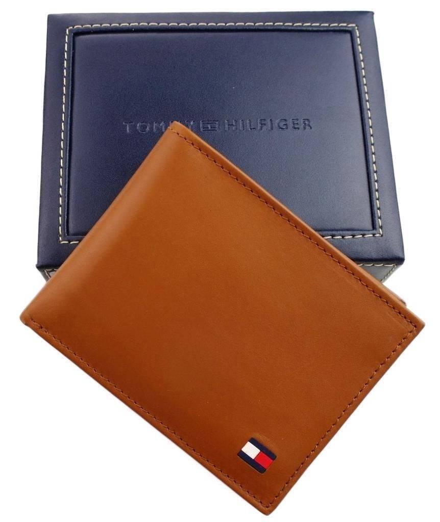 Tommy-Hilfiger-Men-039-s-Premium-Leather-Credit-Card-ID-Wallet-Passcase-31TL22X046 thumbnail 36