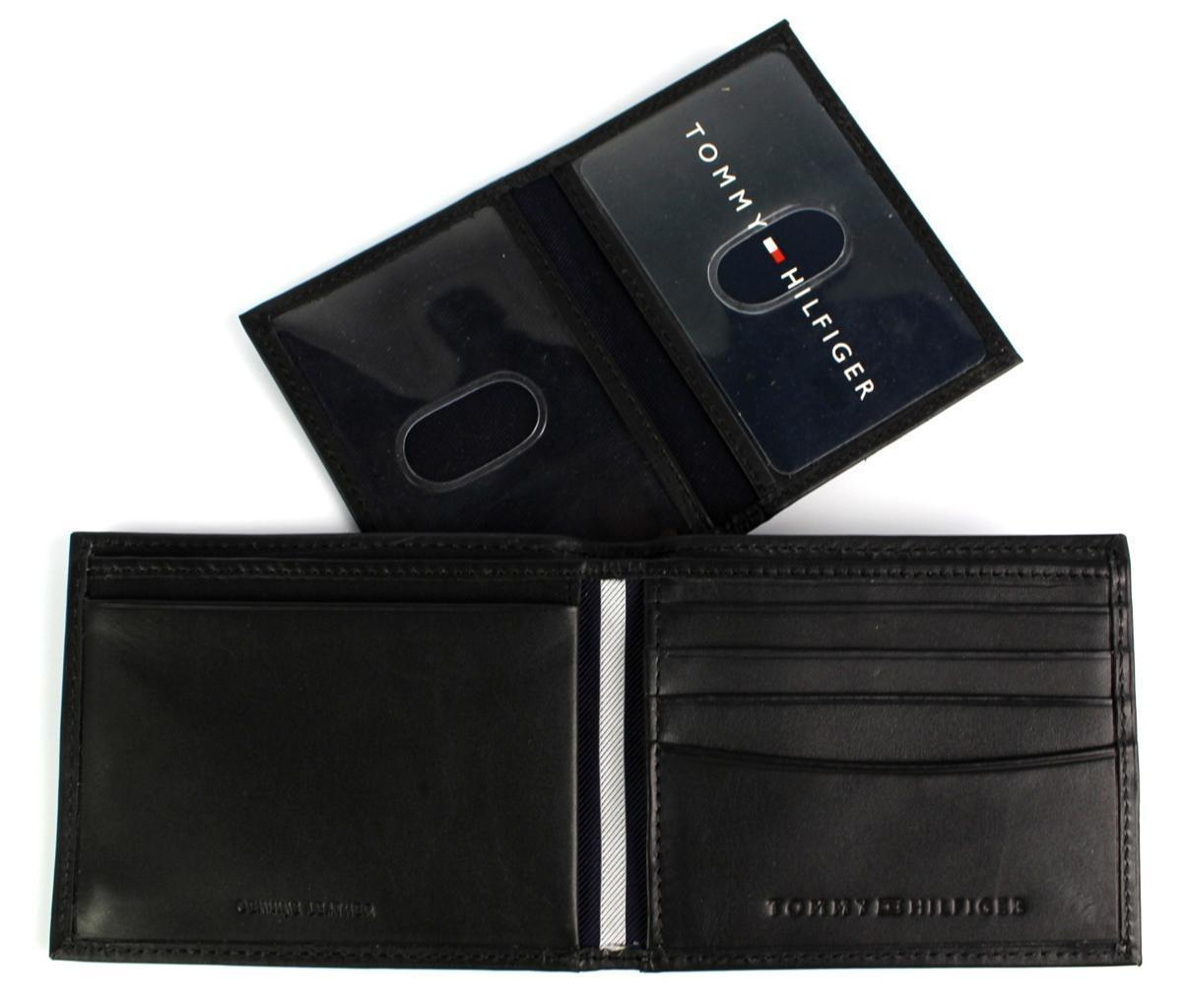 Tommy-Hilfiger-Men-039-s-Premium-Leather-Credit-Card-ID-Wallet-Passcase-31TL22X046 thumbnail 11