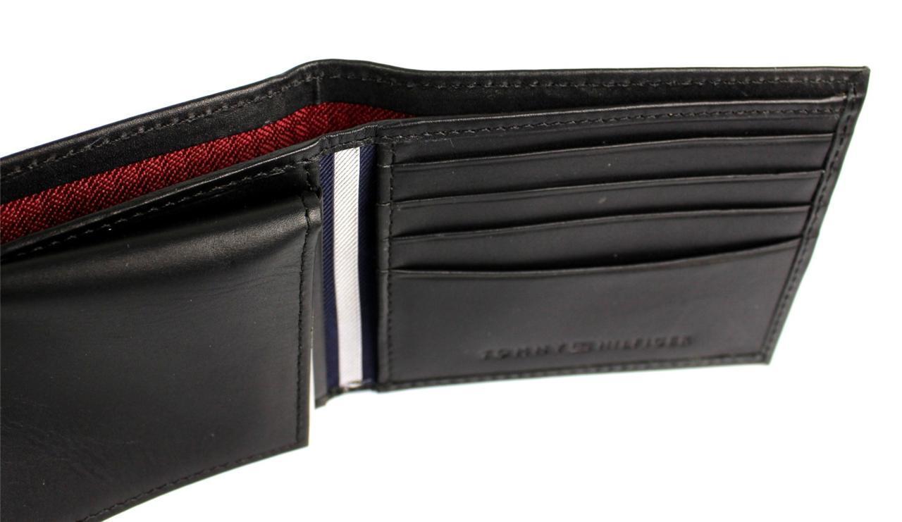 Tommy-Hilfiger-Men-039-s-Premium-Leather-Credit-Card-ID-Wallet-Passcase-31TL22X046 thumbnail 12