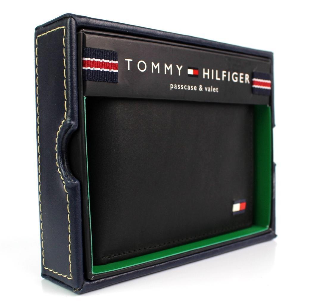 Tommy-Hilfiger-Men-039-s-Premium-Leather-Credit-Card-ID-Wallet-Passcase-31TL22X046 thumbnail 6
