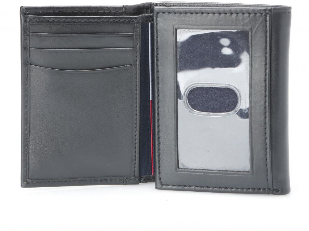 Tommy-Hilfiger-Men-039-s-Premium-Leather-Credit-Card-ID-Wallet-Trifold-31TL11X033 thumbnail 6