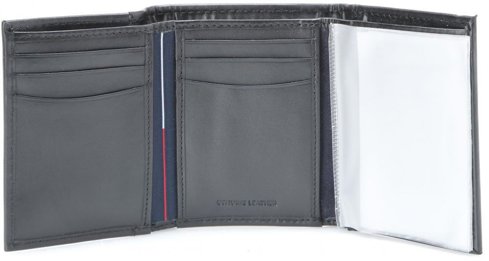 Tommy-Hilfiger-Men-039-s-Premium-Leather-Credit-Card-ID-Wallet-Trifold-31TL11X033 thumbnail 7