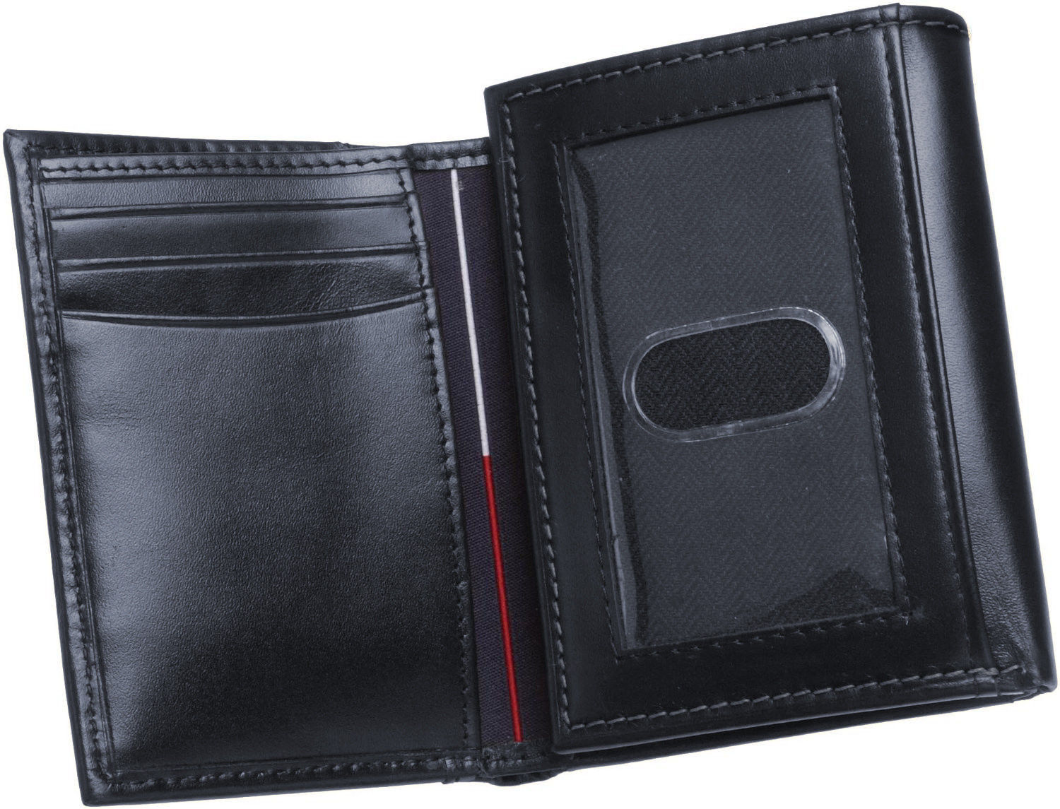 Tommy-Hilfiger-Men-039-s-Premium-Leather-Credit-Card-ID-Wallet-Trifold-31TL11X033 thumbnail 17