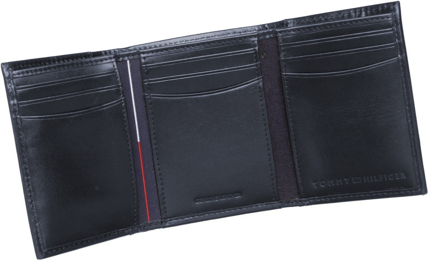 Tommy-Hilfiger-Men-039-s-Premium-Leather-Credit-Card-ID-Wallet-Trifold-31TL11X033 thumbnail 18