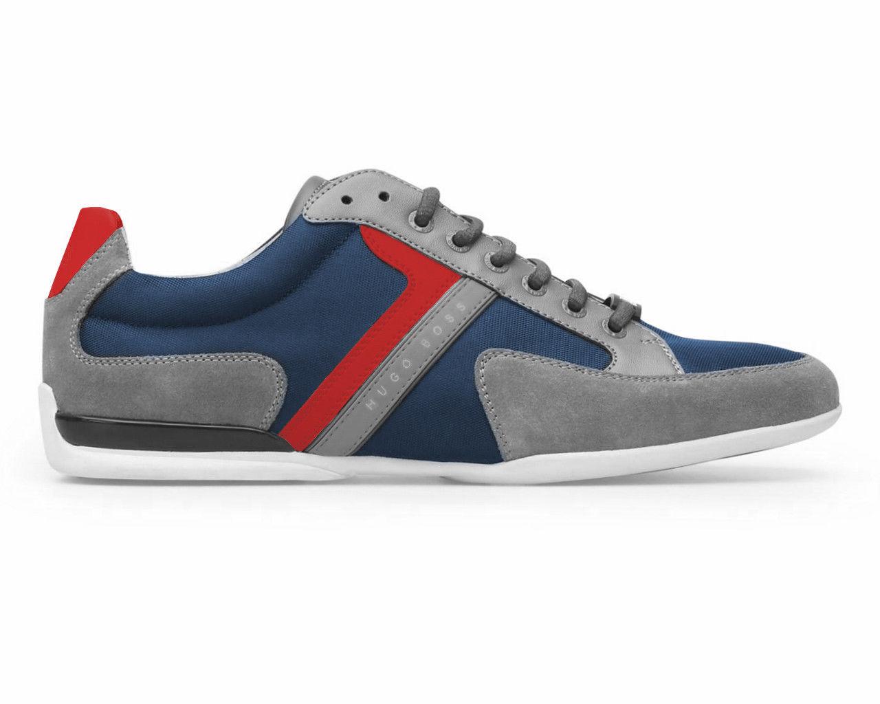 new concept 95756 500d4 ... Hugo Boss Green Men s Premium Sport Fashion Fashion Fashion Sneakers  Running Shoes Spacit 3df3e2. Skip to content