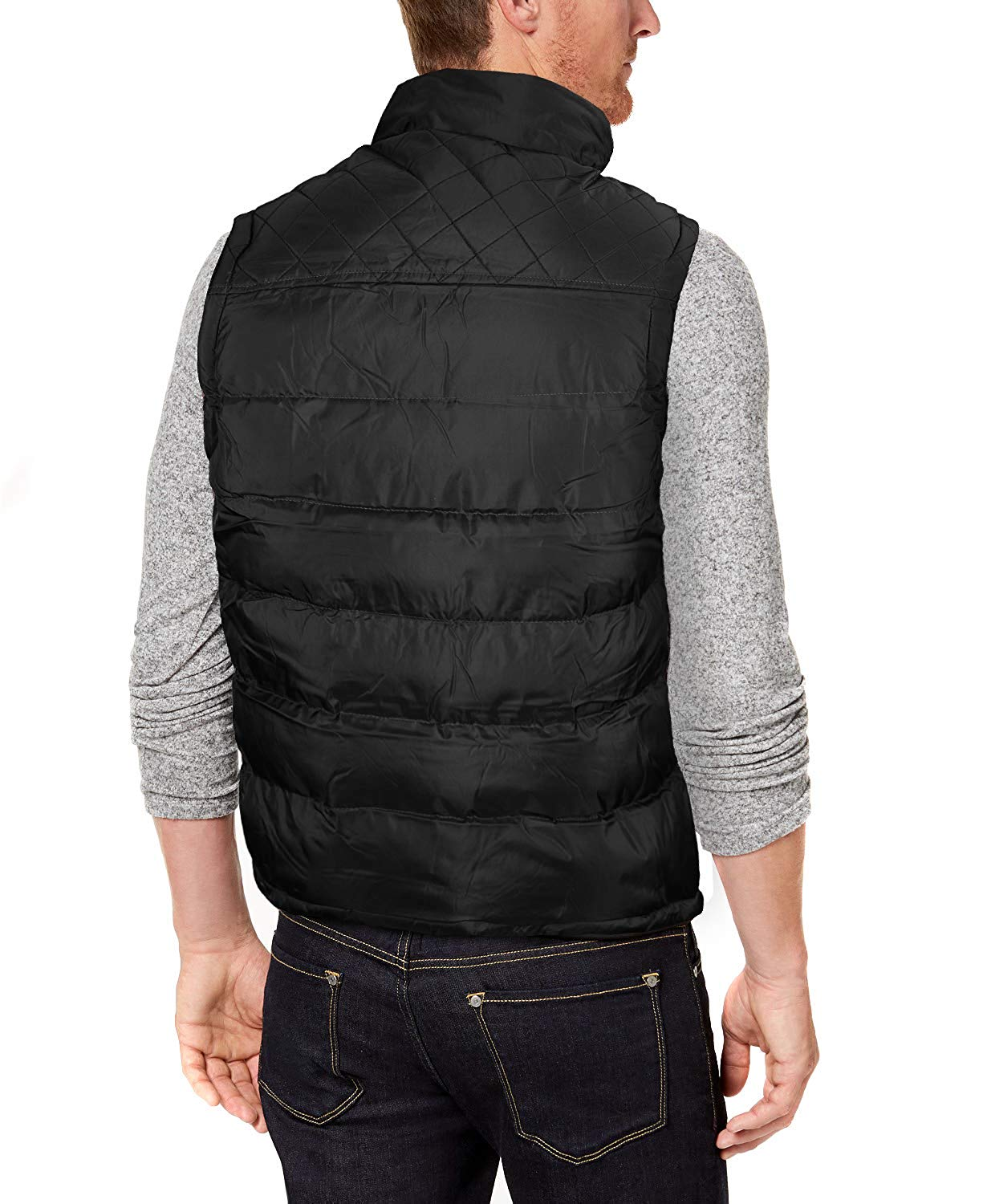 Bandoleros-Western-Men-039-s-Zip-Up-Athletic-Sport-Insulated-Puffer-Vest-VB thumbnail 3